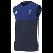 St Lawrence and Highland Court CC Adidas Navy Training Vest