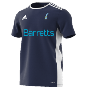 St Lawrence and Highland Court CC Navy Training Jersey