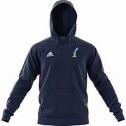 St Lawrence and Highland Court CC Adidas Navy Fleece Hoody