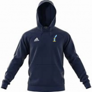St Lawrence and Highland Court CC Adidas Navy Junior Fleece Hoody