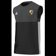 Evenley CC Adidas Black Training Vest