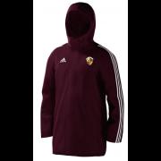 Evenley CC Maroon Adidas Stadium Jacket