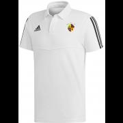 Evenley CC Adidas White Polo