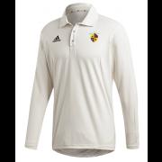 Evenley CC Adidas Elite Long Sleeve Shirt
