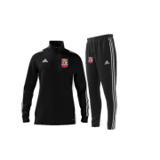 Sileby Town CC Off Field Bundle - Black Zip Training Top and Black Pants
