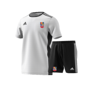 Sileby Town CC Training Bundle - White Jersey and Black Shorts