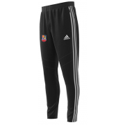 Sileby Town CC Adidas Black Junior Training Pants