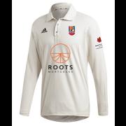 Sileby Town CC Adidas Elite Long Sleeve Shirt