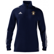 Spelthorne Sports CC Adidas Navy Zip Training Top