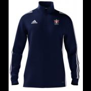 Bexleyheath CC Adidas Navy Zip Junior Training Top