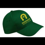 Oakham CC Green Baseball Cap