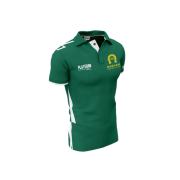 Oakham CC Playeroo Green Polo Top