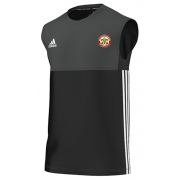 Worcester Nomads CC Adidas Black Training Vest