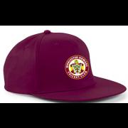 Worcester Nomads CC Maroon Snapback Hat