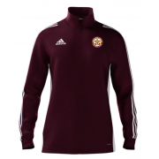 Worcester Nomads CC Adidas Maroon Zip Training Top
