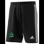High Farndale CC Adidas Black Junior Training Shorts