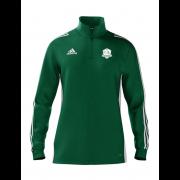 High Farndale CC Adidas Green Zip Junior Training Top