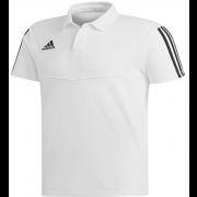 High Farndale CC Adidas White Polo