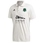 High Farndale CC Adidas Elite Junior Short Sleeve Shirt