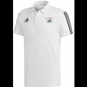 Ruardean Hill CC Adidas White Polo