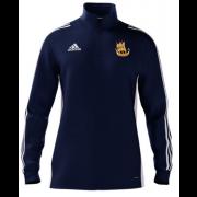 Galleywood CC Adidas Navy Zip Junior Training Top