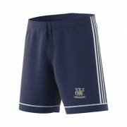 Woodley CC Adidas Navy Junior Training Shorts