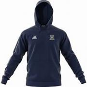 Woodley CC Adidas Navy Junior Fleece Hoody