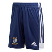 Keswick CC Adidas Navy Junior Training Shorts