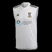 Keswick CC Adidas White Training Vest