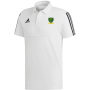 St Georges CC Adidas White Polo
