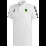 St Georges CC Adidas White Polo