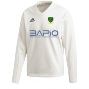 St Georges CC Adidas Elite Long Sleeve Sweater