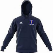 Merthyr CC Adidas Navy Fleece Hoody
