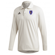 Merthyr CC Adidas Elite Long Sleeve Shirt