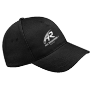 All Rounder Golf Black Baseball Cap