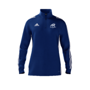 All Rounder Golf Adidas Blue Zip Training Top