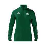 All Rounder Golf Adidas Green Zip Training Top
