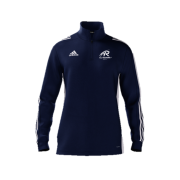 All Rounder Golf Adidas Navy Zip Junior Training Top