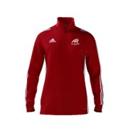 All Rounder Golf Adidas Red Zip Junior Training Top