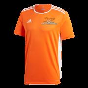 Just 4 Keepers Adidas Entrada 18 Orange Training Jersey