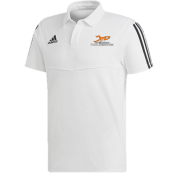 Just 4 Keepers Adidas White Polo