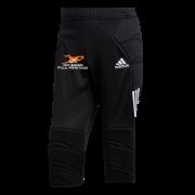 Just 4 Keepers Adidas Tierro Black Junior Goalkeeper 3/4 Pants