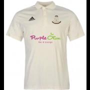 Wavertree CC Adidas Pro Junior Short Sleeve Polo