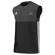 Wavertree CC Adidas Black Training Vest