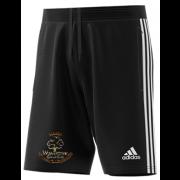 Wavertree CC Adidas Black Junior Training Shorts