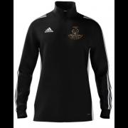 Wavertree CC Adidas Black Zip Training Top