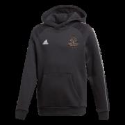 Wavertree CC Adidas Black Junior Fleece Hoody