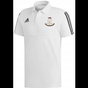 Wavertree CC Adidas White Polo