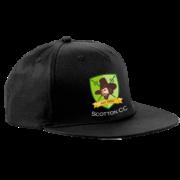Scotton CC Black Snapback Hat