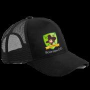 Scotton CC Black Trucker Hat
